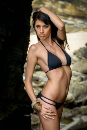 Nicole Halvey is on top of the pile when it comes to SA Babes
