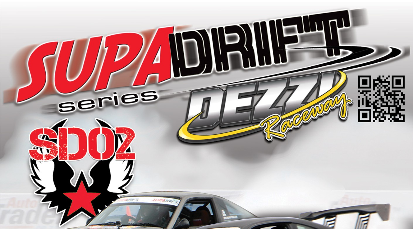 Drifting action is set to hit Dezzi Raceway for round 2 of the Supadrift Series