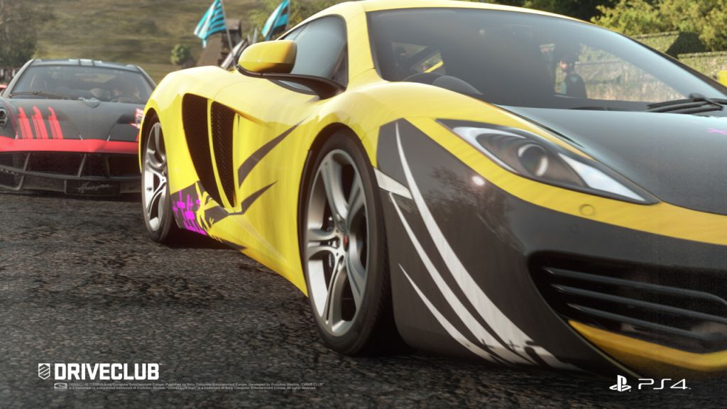 Driveclub for Playstation 4 release date announced