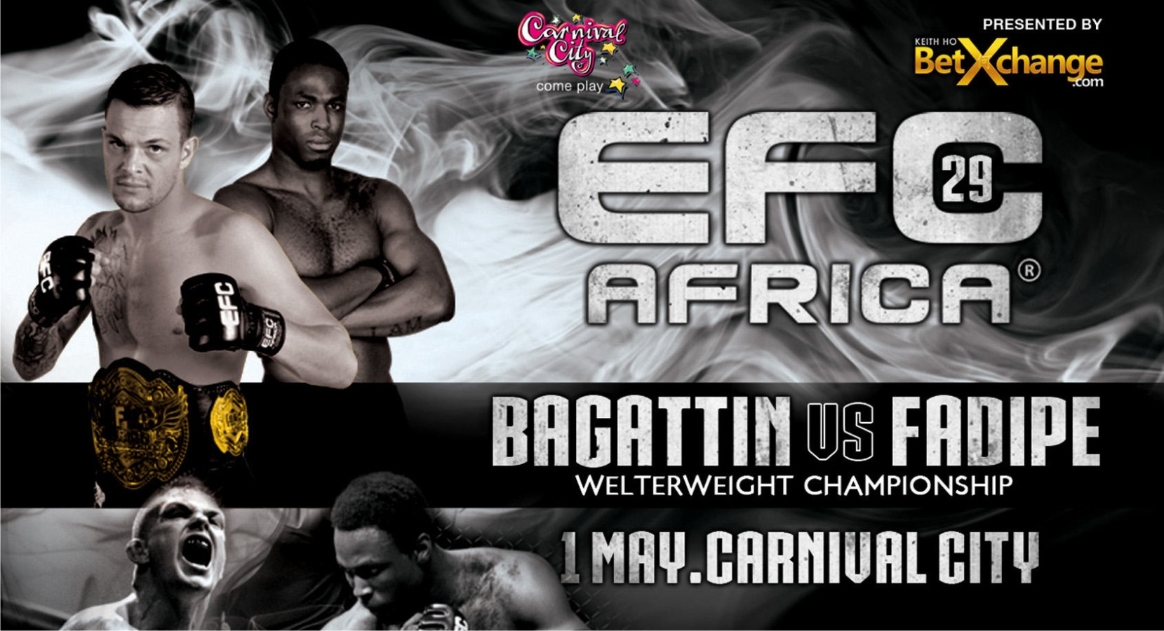 EFC Africa 29 is set to be a night full of exciting fights