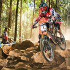 Josh Bryceland qualifying an impressive 2nd at the DH MTB World Cup opener