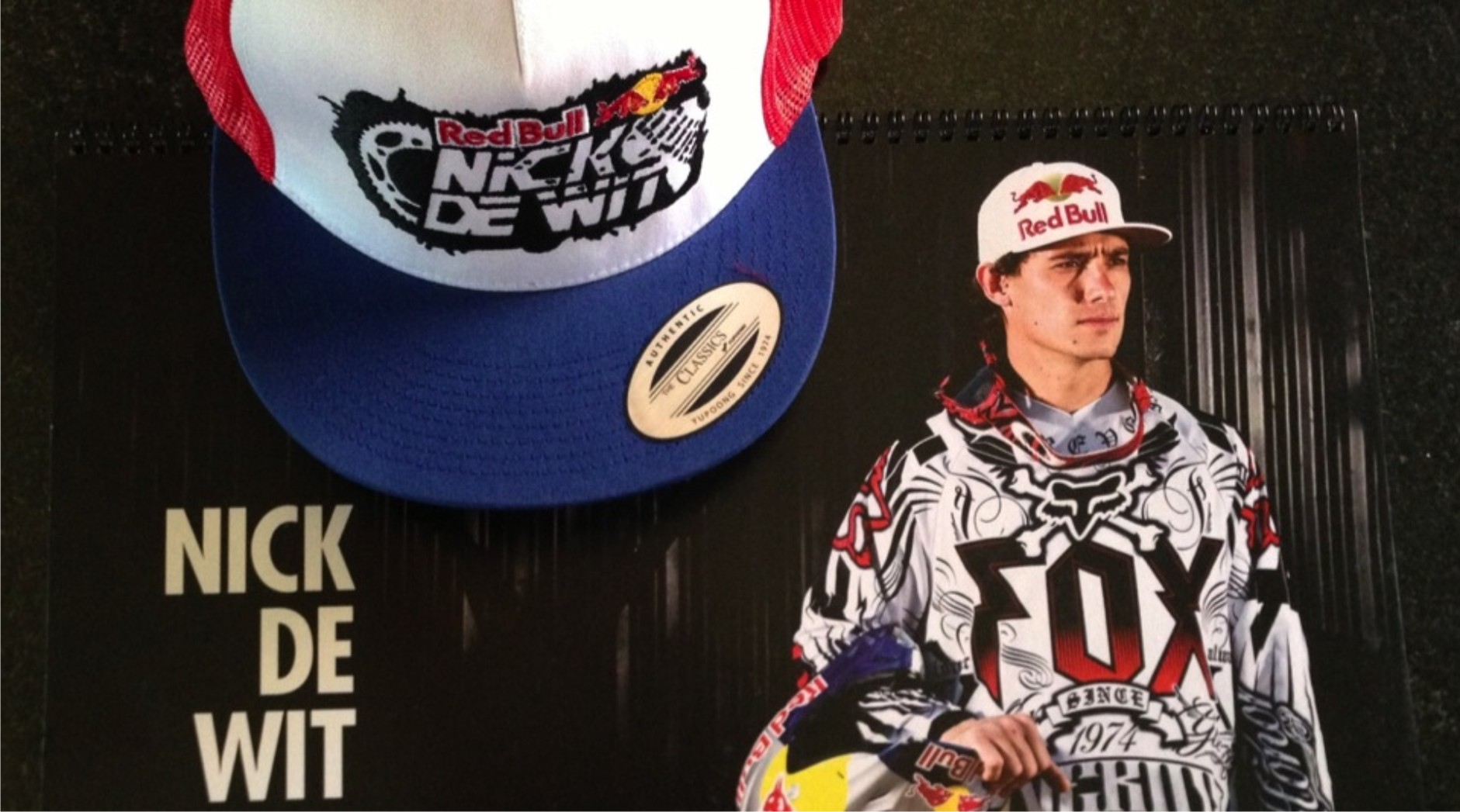 Enter our Nick de Wit freestyle motocross competition now