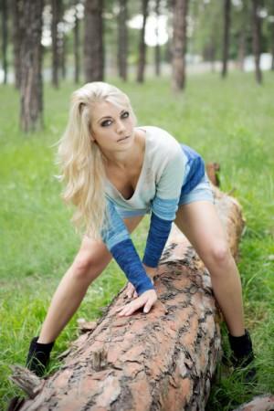 Petra Rossouw representing SA babes finest