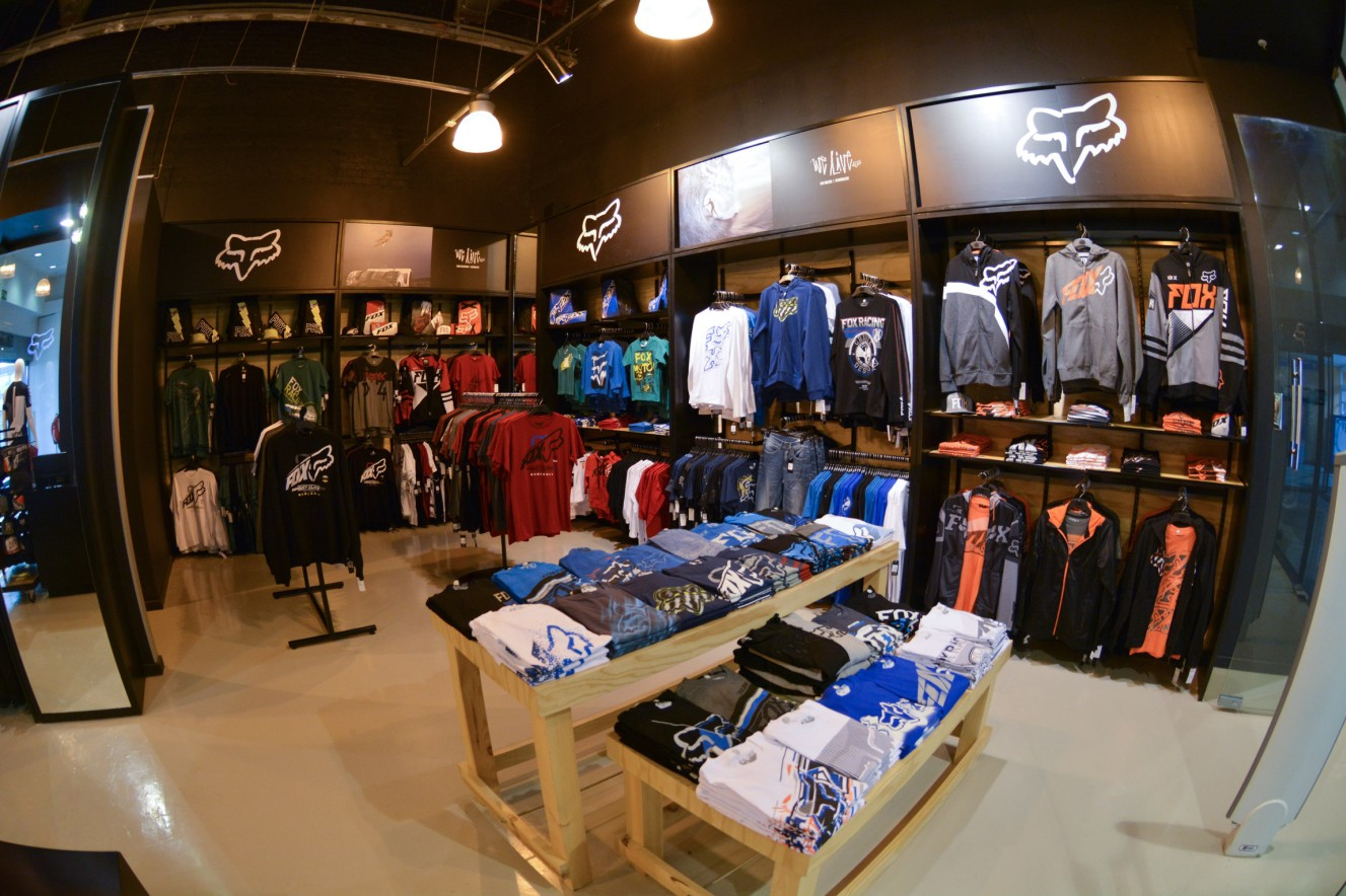 The new Fox store in Menlyn Parl Mall is open