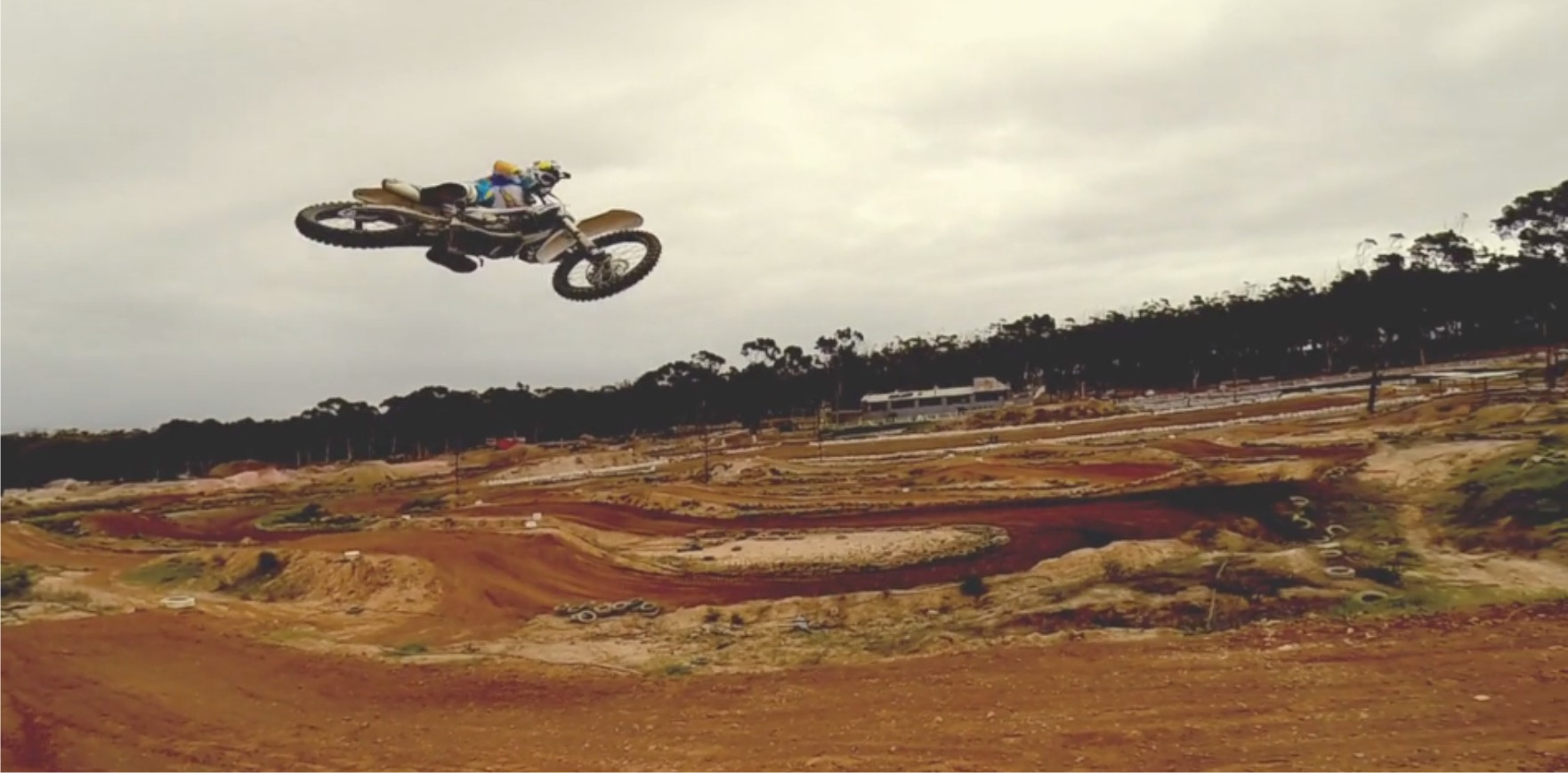 Anthony Raynard ripping in the Ice Cream motocross video