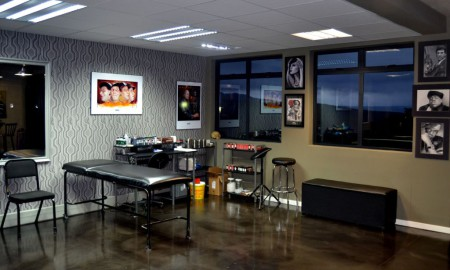View of Mike's Artura Tattoo Studio