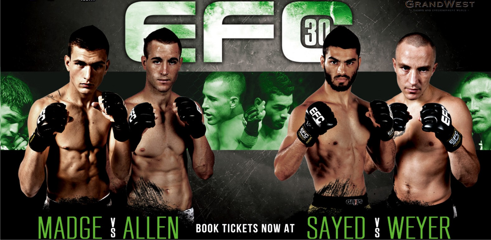 EFC Africa 30 goes to Cape Town with its MMA Action
