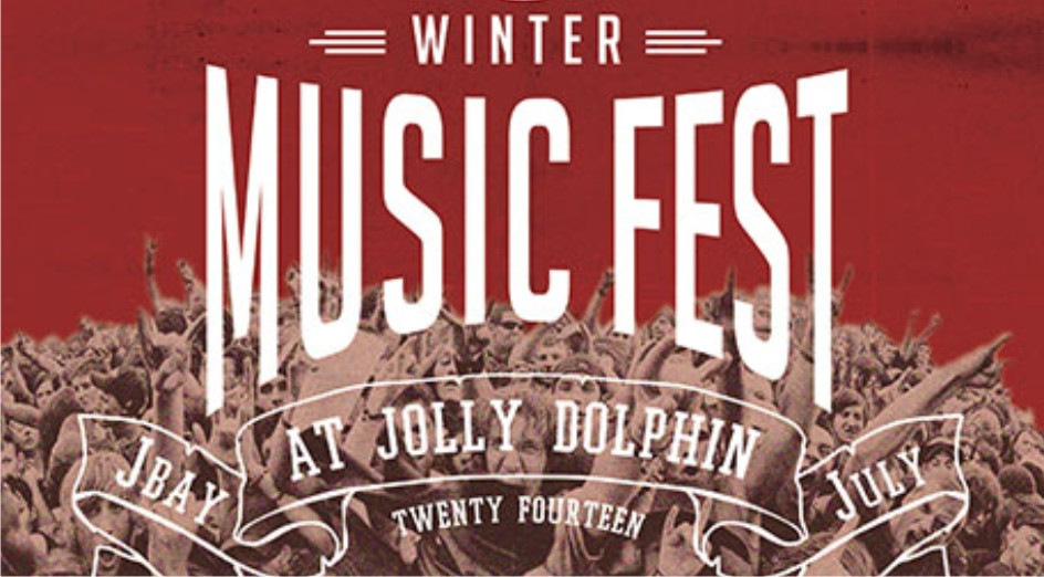 The JBay Winterfest line up announced