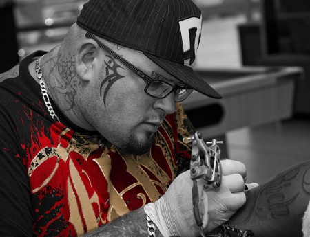 Mike Armstrong is our features Tattoo artist of the Week