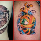 Some Tattoos by Mike Armstrong