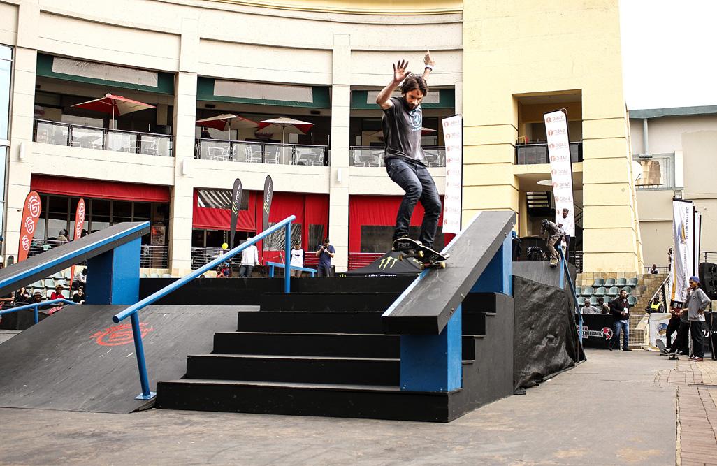 Alan Morola skateboarding his way to the KDC Grand Slam win
