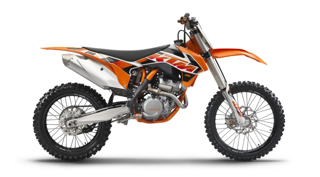 The 2015 KTM Motocross rang is now available in South Africa