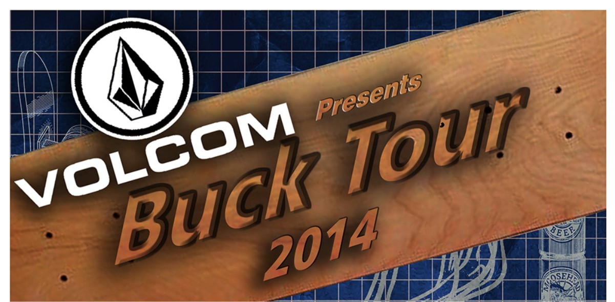 The annual Buck Tour Skate contest head to George for 2014
