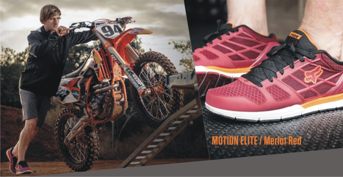 The Fox Motion shoes are now available in SA