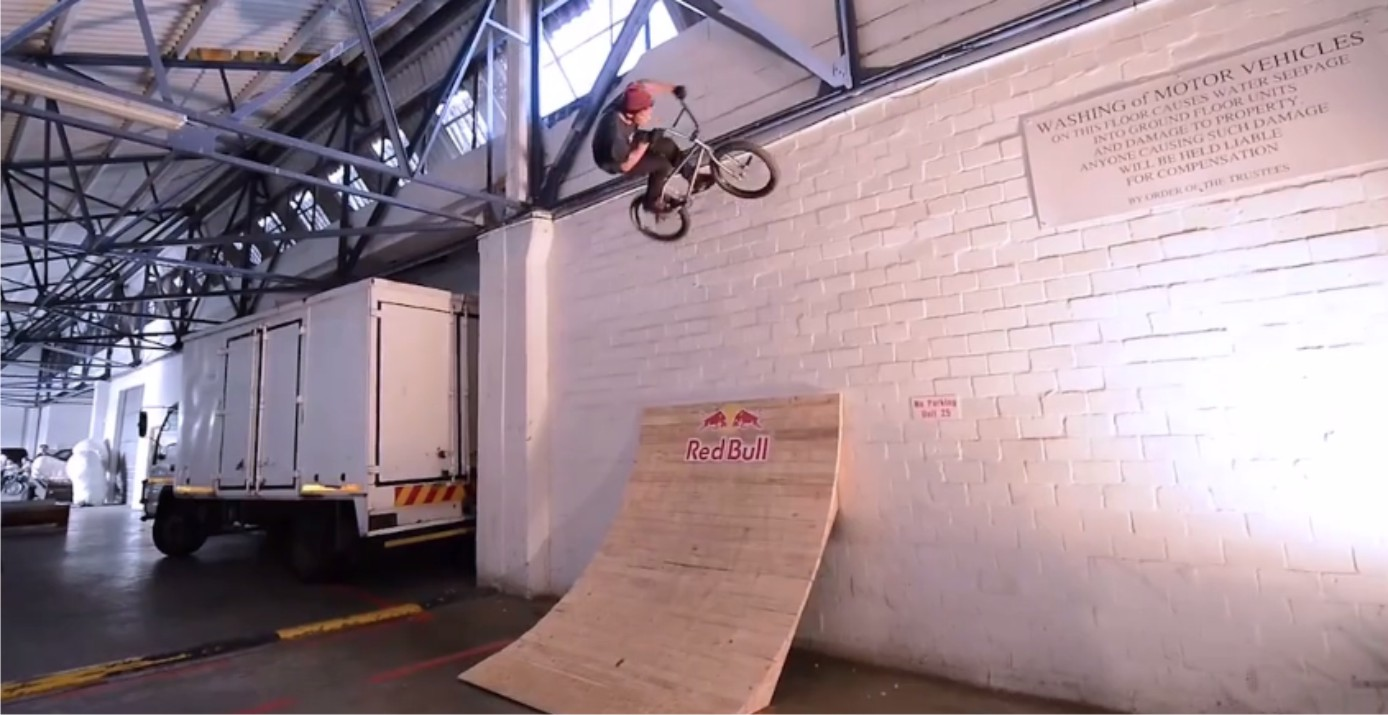 Video from the Red Bull BMX Warehouse Jam