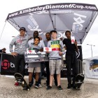 Under 16 Podium at the KDC Grand Slam skateboarding event
