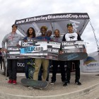 Rider Cup Podium at the KDC Grand Slam skateboarding event