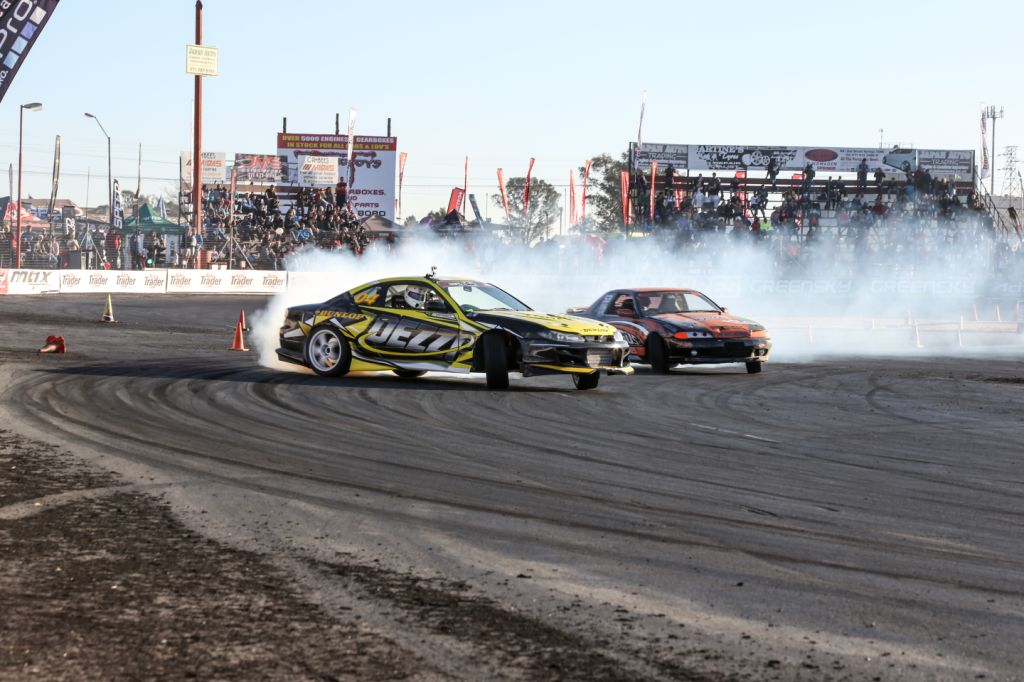 Drifting action from Round 6 of the Supadrift Series
