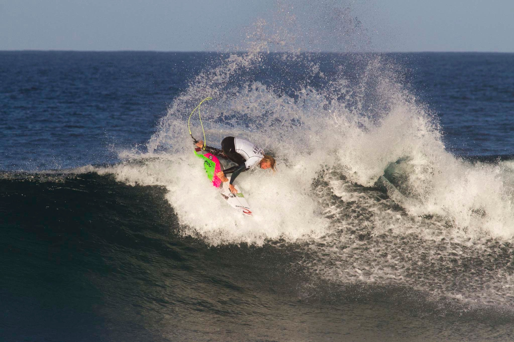 Highlights from day 3 of the J Bay Open of Surfing