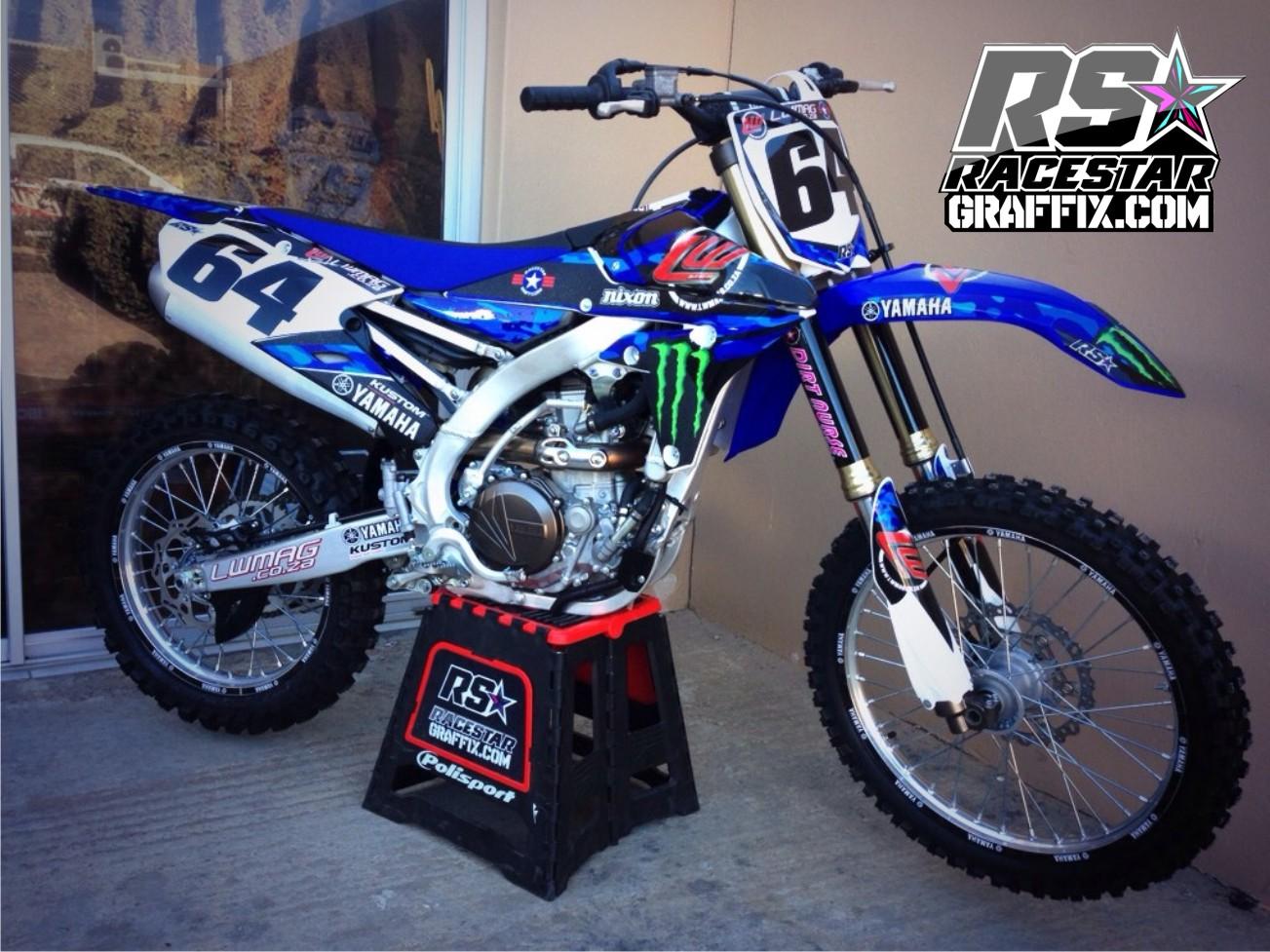 Get That Factory Look With Racestar Graffix Motocross