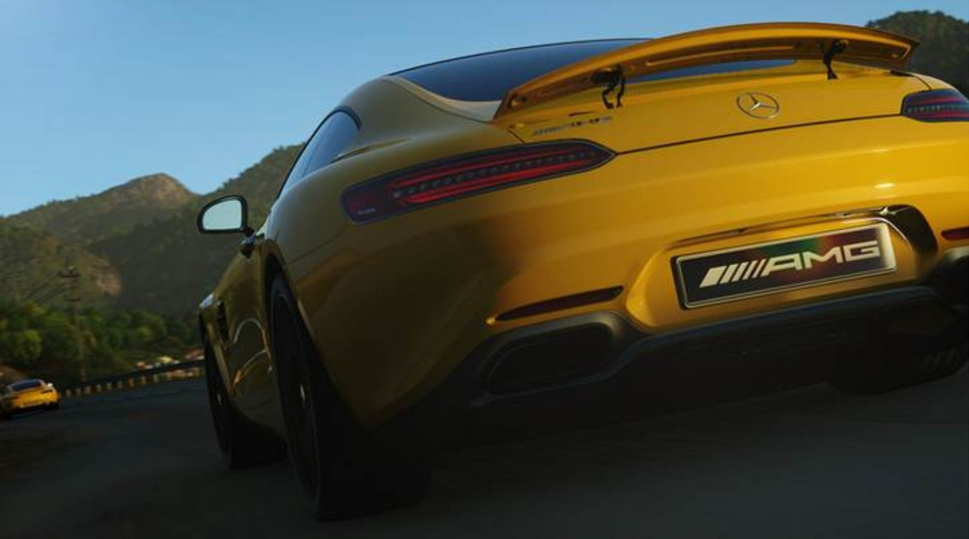 The sexy Mercedes-AMG GT sports car launches exclusively in Driveclub