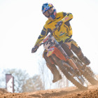 Kerim Fitz-Gerals taking 3rd oevrall in MX1