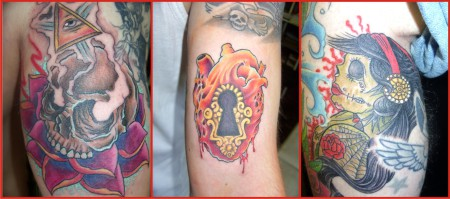 Tattoos done by our Tattoo Artist of the Week, Moog