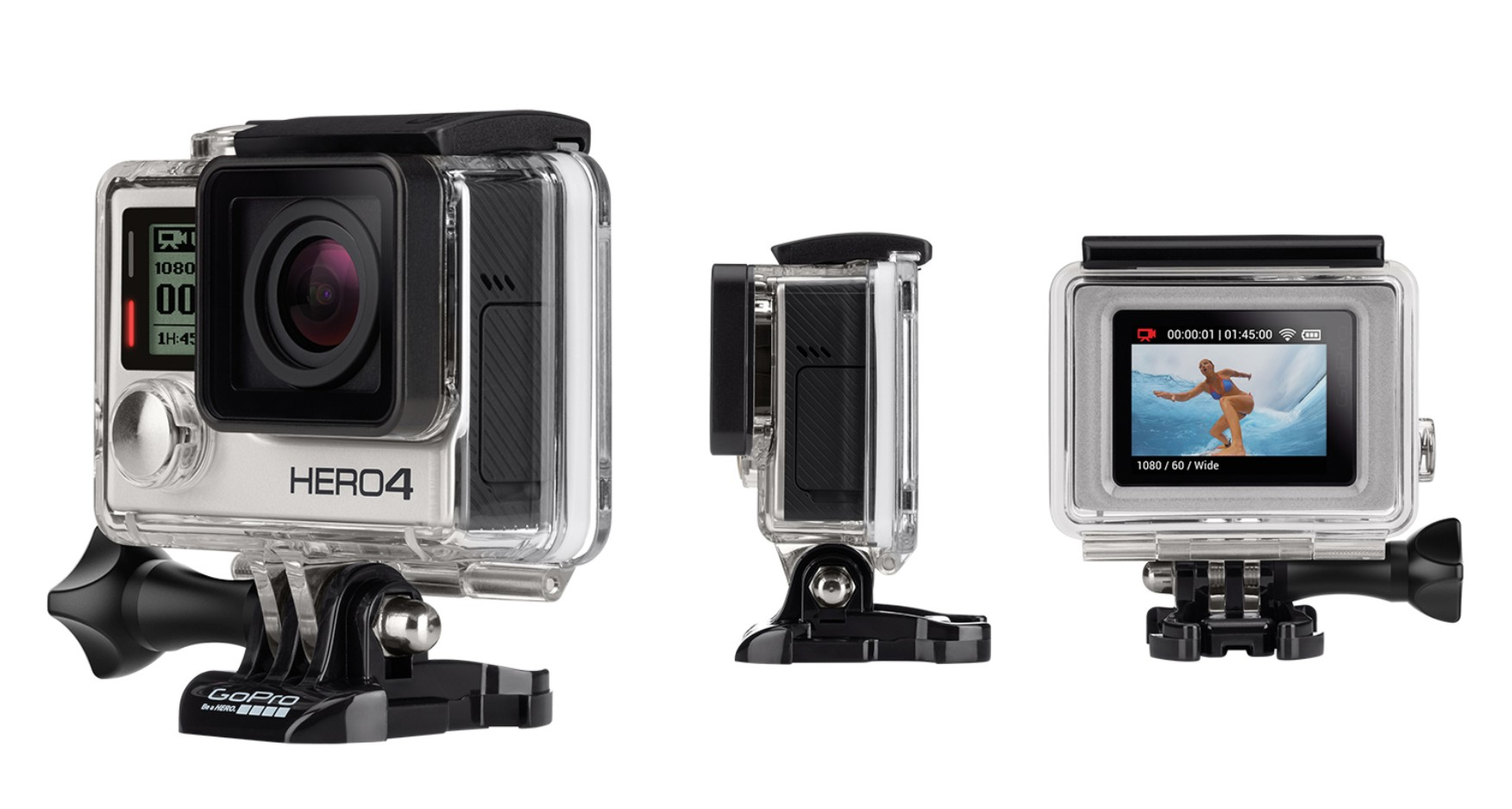 The GoPro Hero4 Silver edition is here