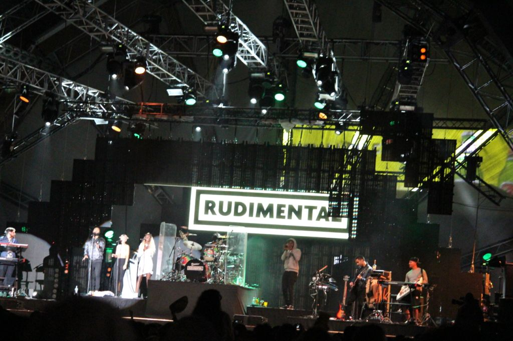 Rudimental bringing the house down at Vodacom In The City