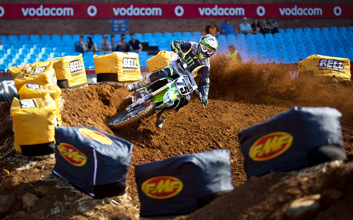Supercross Africa race report is here