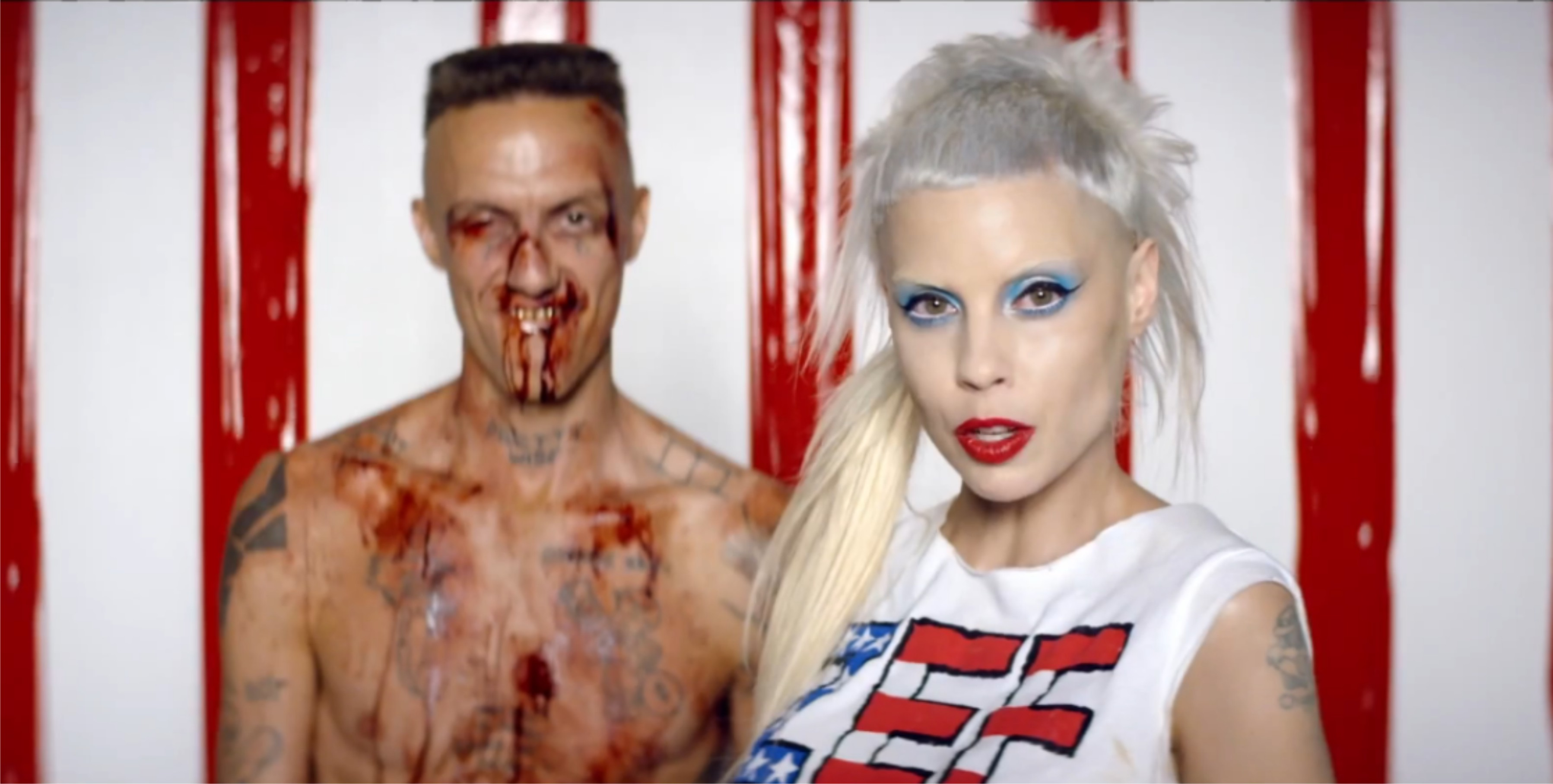 Die Antwoord release their Ugly Boy Music Video to their South African music fans
