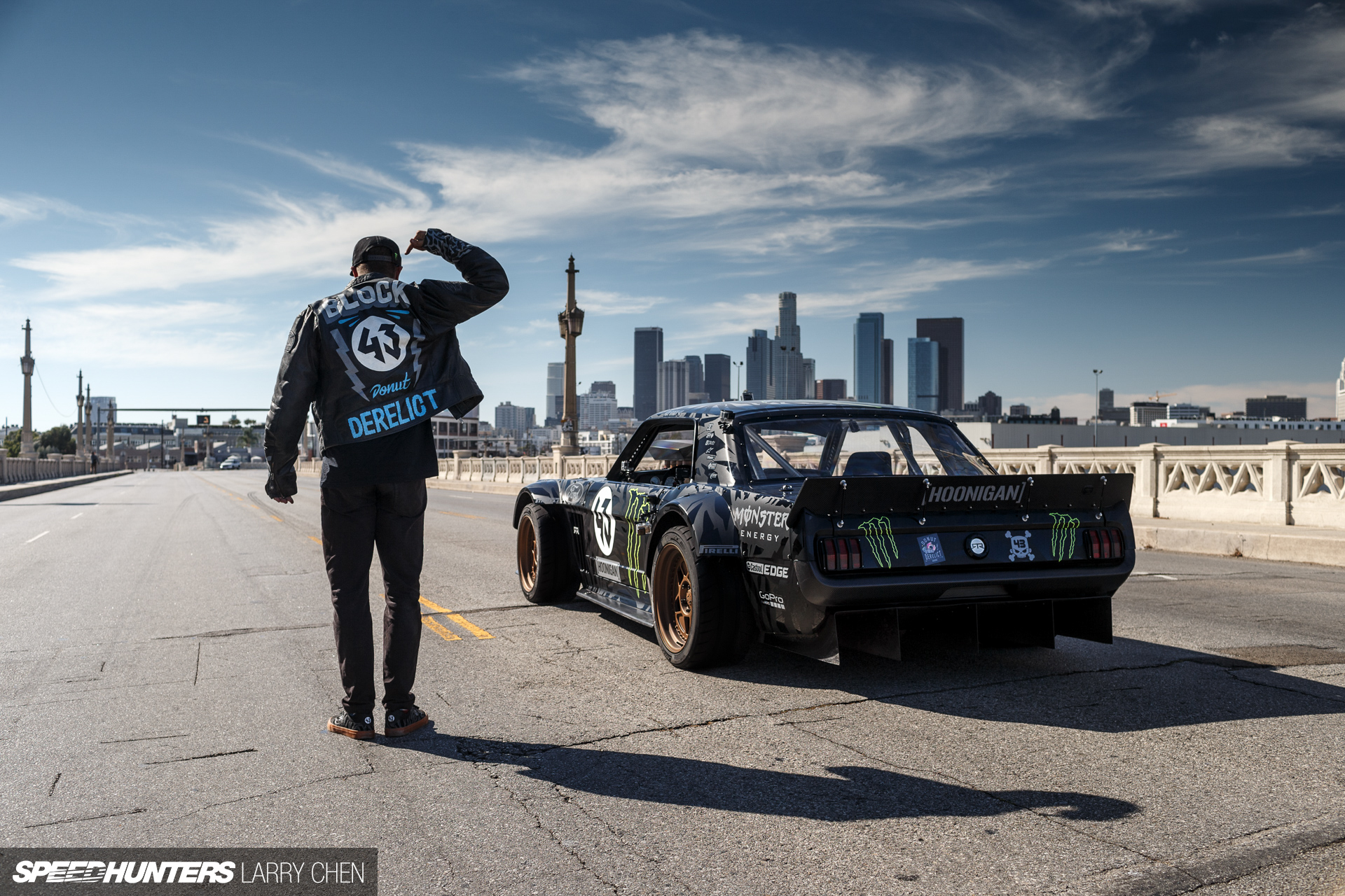 Ken Block's Gymkhana Seven: Wild In The Streets of Los Angeles is here