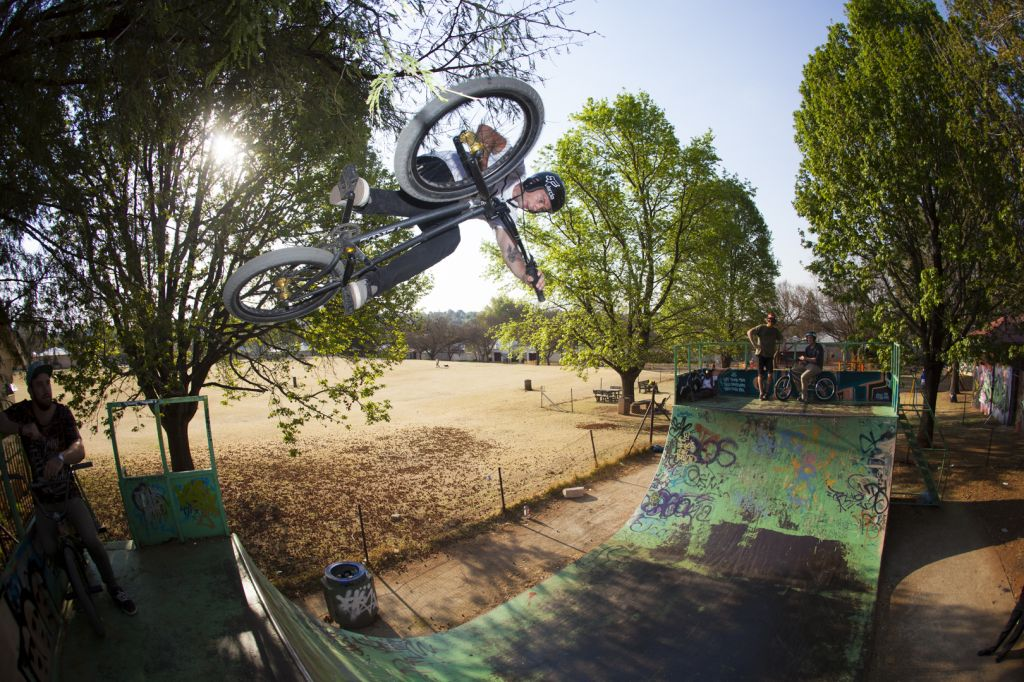 BMX pro Lima Eltham riding in South Africa video