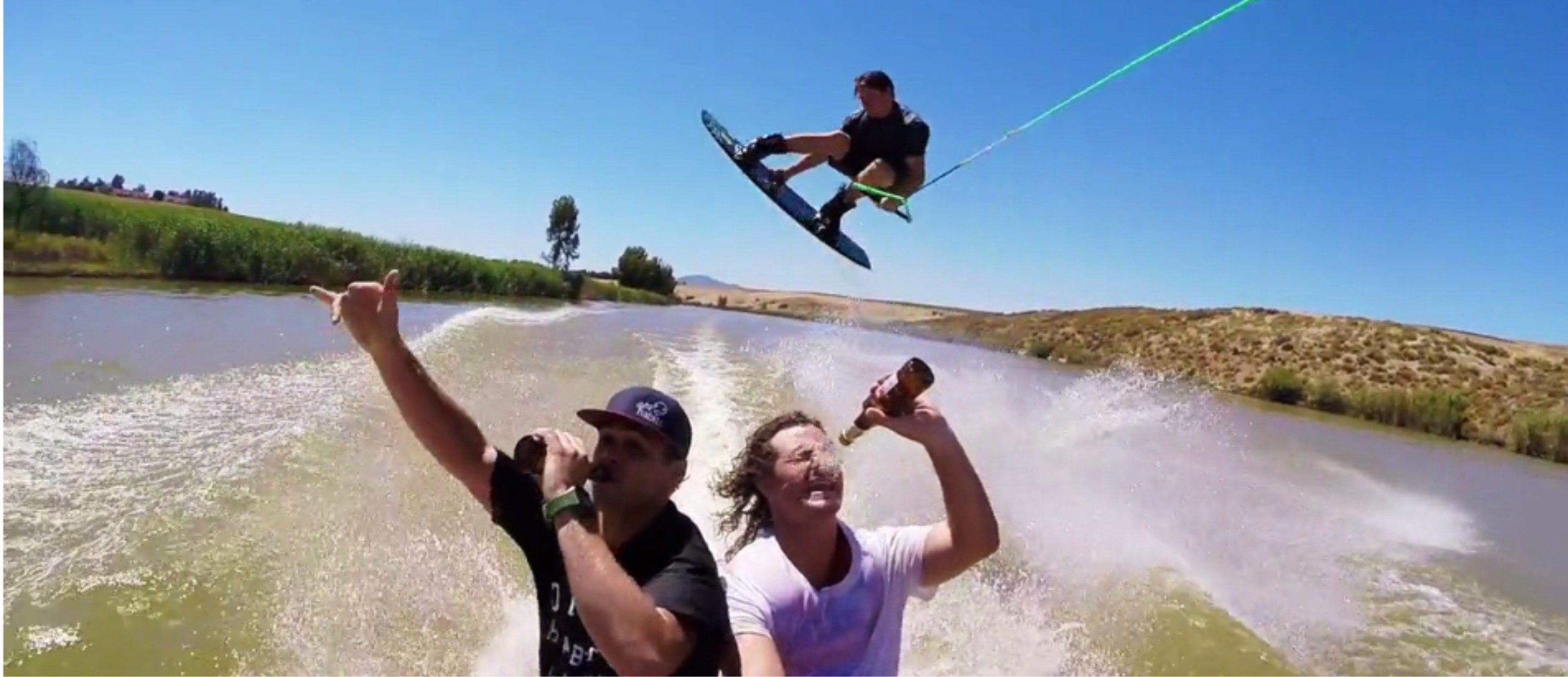 A day out wakeboarding with the Dirty Habits crew