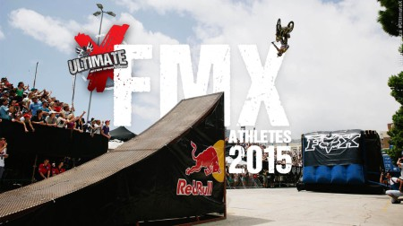 Freestyle Motocross Athletes announced for Ultimate X 2015