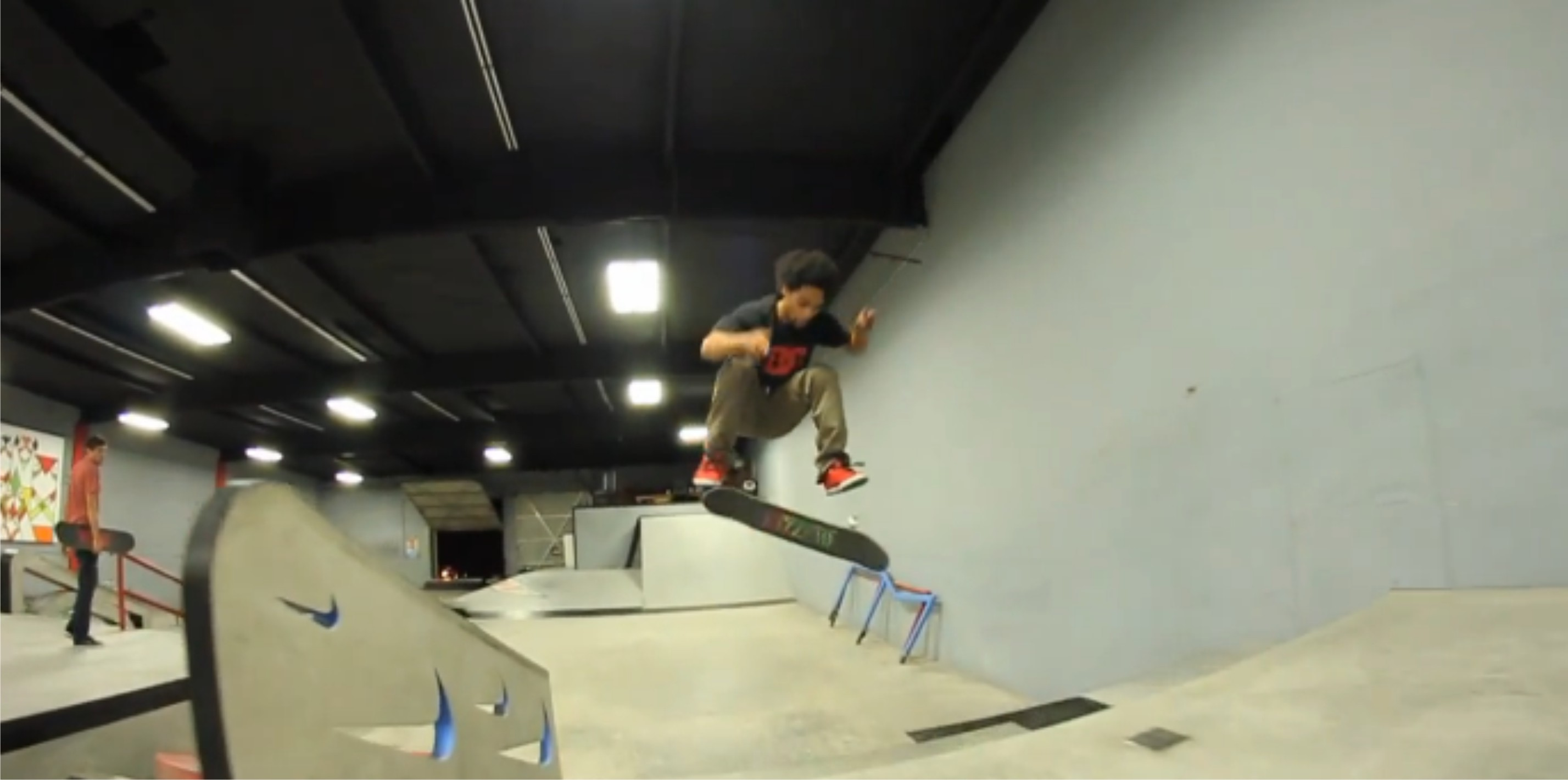 Moses Adams latest skateboarding video - Full Clip Friday