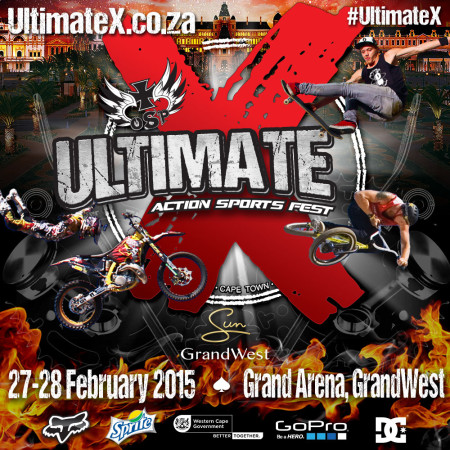 Ultimate X 2015 Athlete Announcement is here