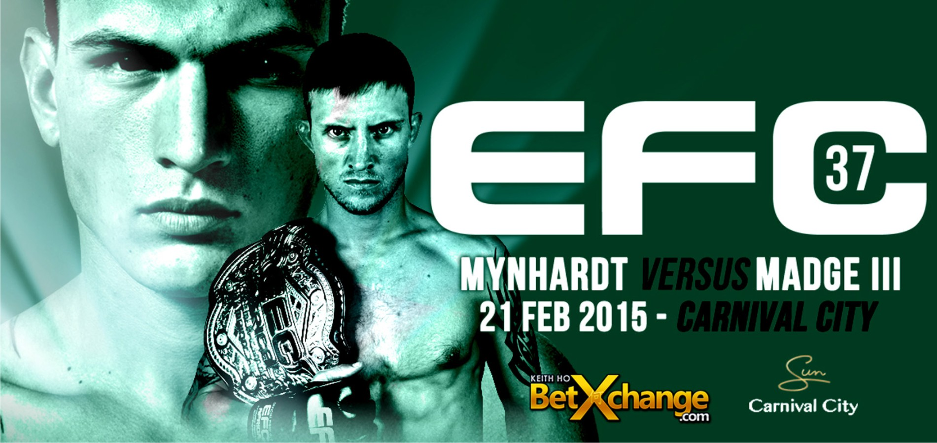 EFC 37 bringing a night of exciting MMA action to Carnival City