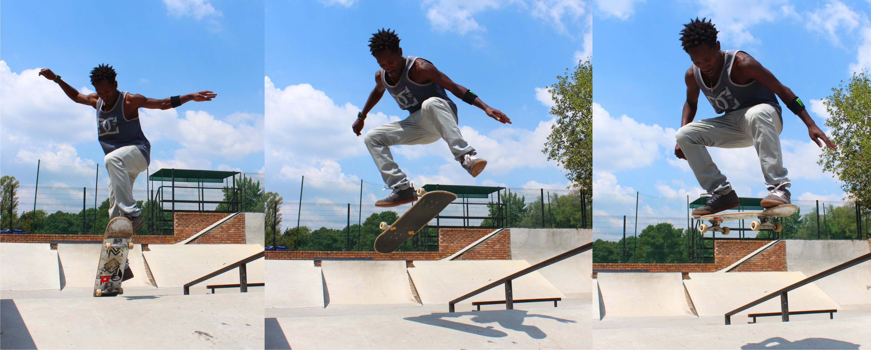 Khule Ngubane skateboarding his way to big dreams