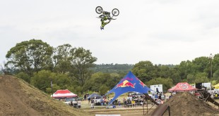 Freestyle Motocross action from the 2015 Open Day