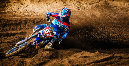 Maddy Malan taking top honours in the MX2 class