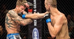 Boyd Allen defends his Featherweight belt at EFC 38