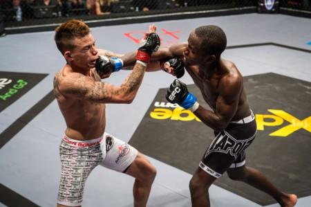 MMA Action at EFC 38 in Durban