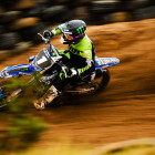 Sacha Naude dominating the MX1 Class at Round 2 of the Monster Energy Motocross nationals