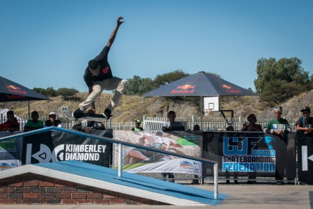 KDC Skate action going down in Kimberley