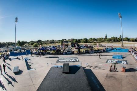 The Kumba Skate Plaza played host to the Midway Mayhem Skateboarding event
