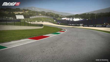 Mugello circuit is just one of the official tracks featured on MotoGP 15 video game