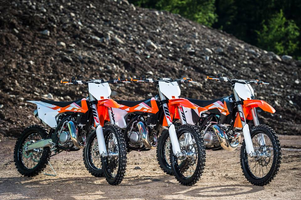 2016 Ktm Sx Motocross Range Unveiled Lw Mag