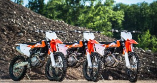 The 2016 KTM SX Motocross range has been unveiled