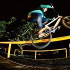 Brandon Blight showing his BMX street skills